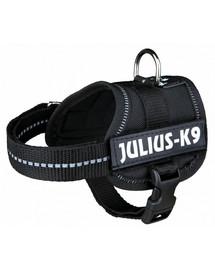 TRIXIE Postroj pro psy julius-k9 XL 82–118 cm černý