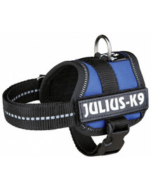 TRIXIE Postroj pro psy julius-k9  XL 82–118 cm nebesky modrý
