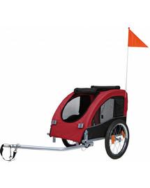 TRIXIE Vozík pro psa za jízdní kolo 45×48×74 cm červeno-černý
