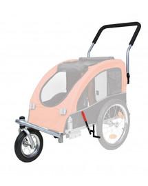 TRIXIE Přední kolo a držadlo k vozíku, přeměna na běhání 12814