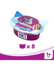 WHISKAS Dentabits na čištění zubů 40g x8