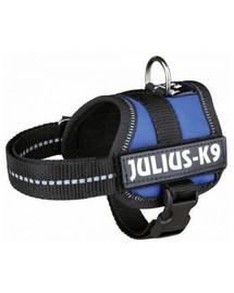 TRIXIE Postroj pro psy Julius-K9 , Rozm.1/L: 66–85 cm, nebesky modrý