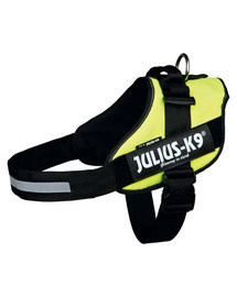 TRIXIE Postroj pro psy Julius-K9 Idc , Mini-Mini/S: 40–53 cm, Neonový žlutý