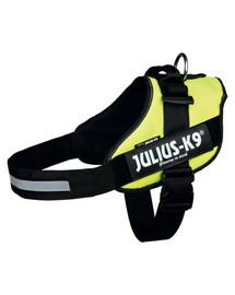 TRIXIE Postroj pro psy Julius-K9 Idc, 3/XL: 82–115 cm, Neonový žlutý