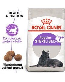 ROYAL CANIN Sterilised 7+ 10kg  granule pro stárnoucí kastrované kočky
