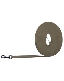 TRIXIE Easy Life trekové vodítko, 10 M/17 mm, tmavošedý