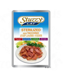 STUZZY Sterilized - S krůtím masem pro kočky sterilizované 100G