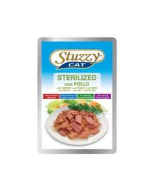 STUZZY Sterilized - a kuřecí maso pro sterilizované kočky 100G
