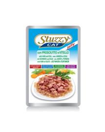 STUZZY Ham Veal - šunka a telecí maso v želé 100G