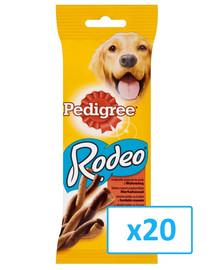 PEDIGREE Rodeo s hovězím 70 g x 20