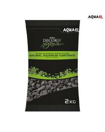 AQUAEL Přírodní podloží do akvária 2-4 mm 2kg