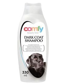 COMFY Šampón pro psy s tmavou srstí 330 ml
