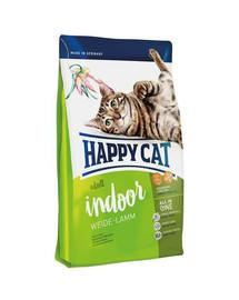 HAPPY CAT Fit & Well Indoor Adult Jehněčí 1,4 kg