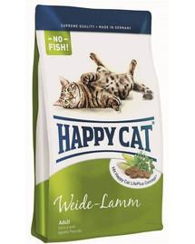 HAPPY CAT Fit & Well Adult Jehněčí 1,4 kg