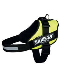TRIXIE Postroj pro psy Julius-K9, Rozměr M-L, 58-76 cm Neonově žlutý
