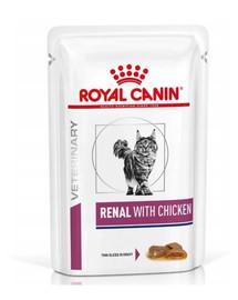 ROYAL CANIN VD Feline Renal kuře 12 x 85 g