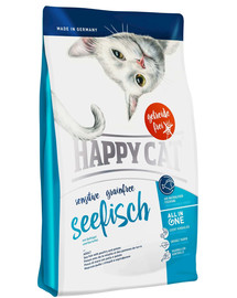 HAPPY CAT Sensitive Grainfree Ryba Morska 300 g