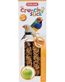 ZOLUX Crunchy Stick Exotičtí ptáci jáhly a jablko 85 g