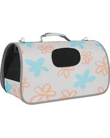 ZOLUX Cestovní taška Flower velká šedá