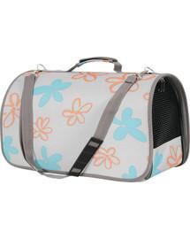 ZOLUX Cestovní taška Flower střední šedá