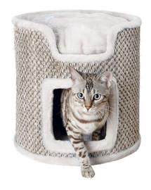 TRIXIE Věž pro kočku Ria 37 cm světle šedá