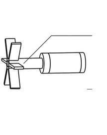 AQUAEL vrtulka k čerpadlu Cirkulator 1000 a filtru Turbo 1000
