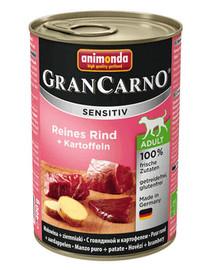 ANIMONDA Grancarno Sensitiv Hovězí a brambory 800 g