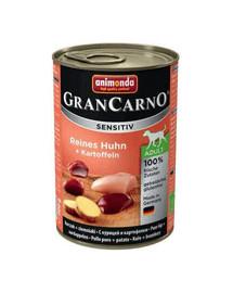 ANIMONDA Grancarno Sensitiv Kuřecí a brambory 800 g
