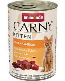 ANIMONDA Carny Kitten hovězí koktejl 400 g