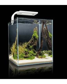 AQUAEL Shrimp Smart akvarijní set 25x25x30 cm, 20 l bílý