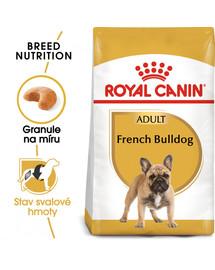 ROYAL CANIN French Bulldog Adult 9 kg granule pro dospělého francouzského buldočka