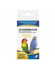 FRANCODEX Vitamíny pro papoušky 150 ml + 18 g