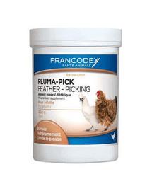 FRANCODEX Pluma-Pick Preparát pro vyvážený růst peří drůbeže 250 g