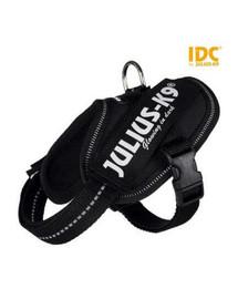TRIXIE Postroj pro psy Julius-K9 IDC Mini-Mini/S: 40–53 cm/22 mm černý