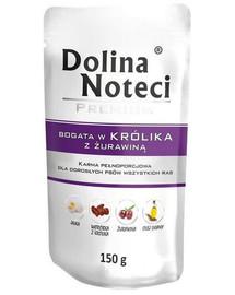 DOLINA NOTECI Premium Bohatá na králíka s brusinkou 150g