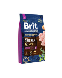 BRIT Premium By Nature Adult Small S 8 kg