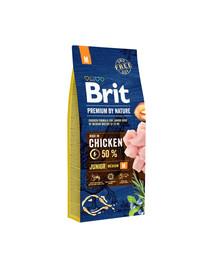 BRIT Premium By Nature Junior Medium M 15 kg