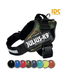TRIXIE Postroj Julius-K9®, Mini-Mini/S: 40–53 cm/22 mm, červená