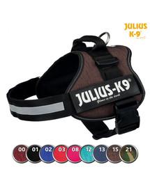 TRIXIE Postroj Julius-K9®, 0/M–L: 58–76 cm/40 mm, mokka