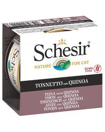 SCHESIR Tuňák s quinoa v želé 85g