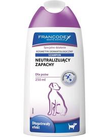 FRANCODEX Šampón Neutralizující silný zápach 250 ml