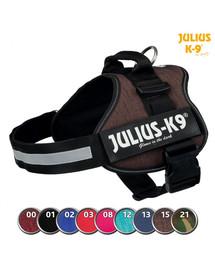 TRIXIE Postroj Julius-K9®, 1/L: 66–85 cm/50 mm, burgundské