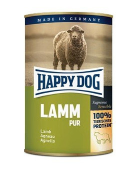HAPPY DOG Lamm Pur Jehněčí 400 g