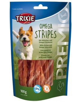 TRIXIE Premio Omega  Stripes kuřecí 100 g