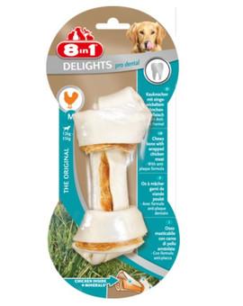 8IN1 Pamlsek Dental Delights Bone M 1ks