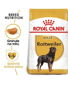 ROYAL CANIN Rottweiler 12 kg granule pro dospělé Rottweilery 12 kg