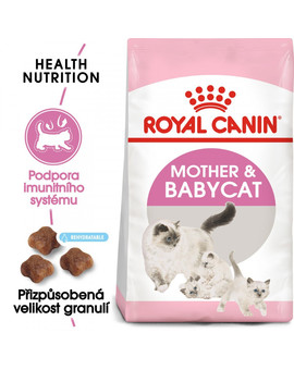 ROYAL CANIN Mother&Babycat 4 kg granule pro březí nebo kojící kočky a koťata