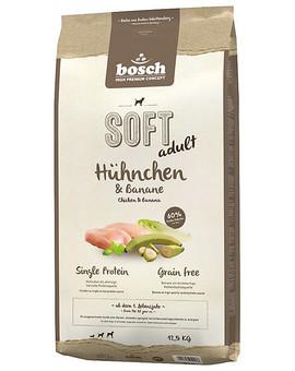BOSCH Soft Kuřecí & banán 12,5 kg