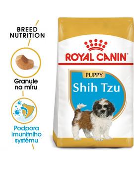 ROYAL CANIN Shih Tzu Puppy 500g granule pro štěně Shih Tzu