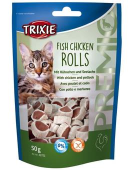 TRIXIE Premio Fish Chicken Rolls kuřecí a treska 50g  42702